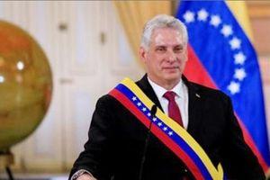 Chủ tịch Cuba lên án mạnh mẽ chính sách cấm vận của Mỹ