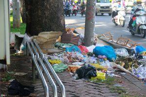 Lo ngại rác thải đường phố