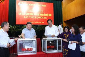 Thông qua Đề án nhân sự Ban Chấp hành Trung ương Hội Nông dân Việt Nam khóa VII