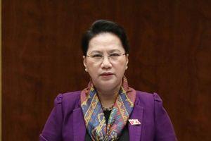 Ủy ban Thường vụ Quốc hội cho ý kiến về nhân sự để bầu Chủ tịch nước