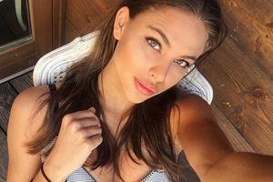 Nhan sắc cuốn hút của Hoa hậu Hoàn vũ Hungary 2018