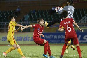 Chung kết bóng đá nữ VĐQG kết thúc trong sự căng thẳng