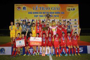 Phong Phú Hà Nam lần đầu tiên vô địch giải bóng đá nữ Vô địch Quốc gia
