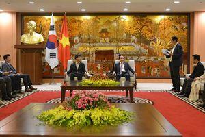 Hà Nội mong muốn tăng cường hợp tác phát triển kinh tế với Seoul