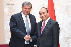 Hình ảnh Thủ tướng tiếp các lãnh đạo một số hiệp hội, doanh nghiệp