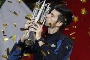 Đánh bại Coric, Djokovic lần thứ tư đăng quang ở Thượng Hải Masters