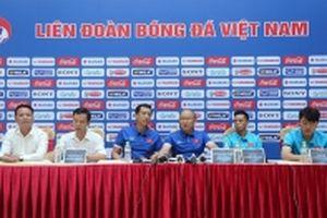 Mục tiêu của Việt Nam là ngôi nhất bảng A tại AFF Cup