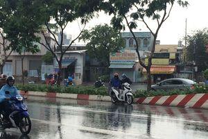 Nam bộ mưa to vì rãnh áp thấp xích đạo