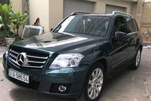 Xe sang Mercedes-Benz GLK giá 600 triệu ở Sài Gòn