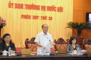 Phiên họp 28, Ủy ban Thường vụ Quốc hội bàn gì?