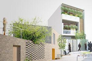 10 mẫu nhà phố 2,5 tầng phong cách hiện đại