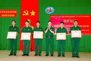 BĐBP TP Hồ Chí Minh tuyên dương điển hình dân vận khéo