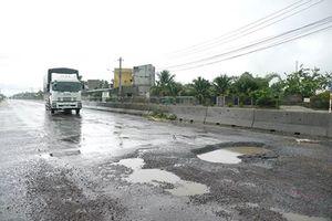 Thủ tướng yêu cầu thanh tra dự án quốc lộ 1 mới làm đã hư hỏng nặng