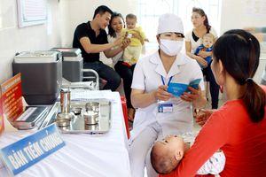 Gần 5 triệu trẻ sẽ được tiêm bổ sung vắc xin sởi - rubella