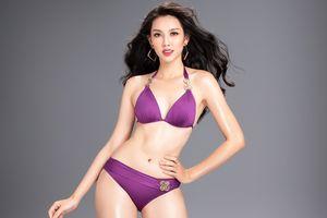 Người đẹp thay thế Á hậu Thúy An thi 'Hoa hậu Quốc tế' khoe dáng nóng bỏng