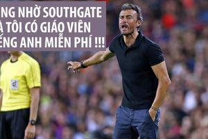 HLV Tây Ban Nha muốn Southgate làm giáo viên tiếng Anh miễn phí