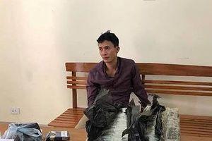 Bắt đối tượng đang vận chuyển 30 bánh heroin vào Sài Gòn tiêu thụ