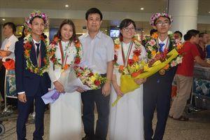 100% thí sinh Việt Nam tham dự Olympic có giải thưởng