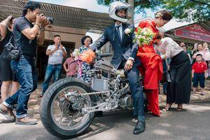 Chiêm ngưỡng siêu phẩm mô tô hàng thửa Malicubu độc nhất Việt Nam