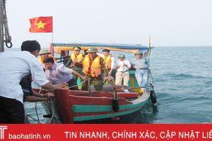 Cùng ngư dân cả nước, Hà Tĩnh quyết liệt khắc phục 'thẻ vàng'