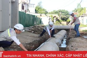 Winhouse tài trợ phường Hà Huy Tập làm đường và mương thoát nước