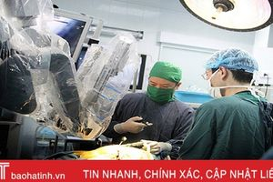 Phẫu thuật cột sống bằng robot cho bệnh nhân tại BVĐK Hà Tĩnh