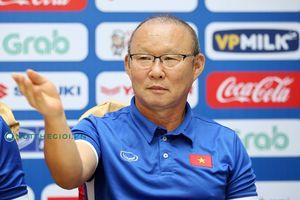 HLV Park Hang-seo: 'Mục tiêu của tuyển Việt Nam tại AFF Cup là ngôi đầu bảng A'