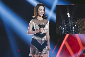 Khán giả thót tim khi thấy Phan Lê Ái Phương vừa hát vừa bị treo giữa trời