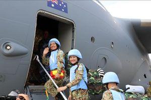 Lực lượng gìn giữ hòa bình Việt Nam xuất quân đợt hai đi Nam Sudan