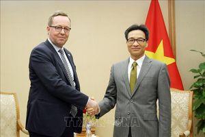Phó Thủ tướng Vũ Đức Đam tiếp Bộ trưởng Kinh tế Phần Lan