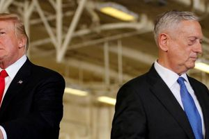 Tổng thống Trump bất ngờ 'bóng gió' về việc Bộ trưởng Quốc phòng James Mattis sắp từ chức