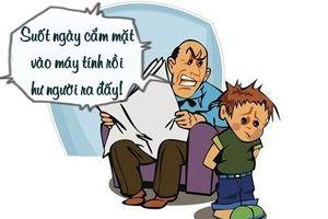 Sáng cười: Trẻ con 'đau đầu' trước lý luận của người lớn