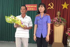 Đồng Nai: Tổ chức xin lỗi người bị truy tố oan sai trong vụ cưa cây tràm đem bán