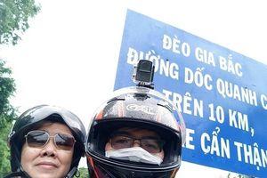 Bà mẹ 62 tuổi 'gây sốt' khi cùng con trai vượt gần 6.000 cây số phượt khắp Việt Nam