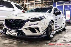 Mazda3 'lên đời' nhờ gói độ thân rộng widebody