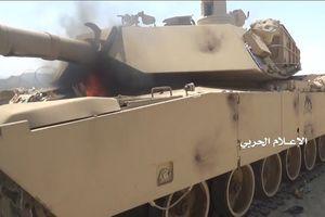 Houthi thiêu hủy một xe tăng M1A2 Abrams của quân đội Ả rập Xê-út