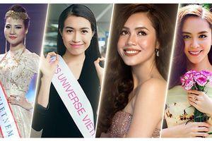 Chuyện lạ có thật của người đẹp Việt đi thi quốc tế