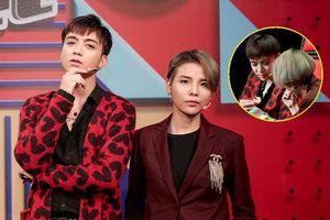 Clip: Vừa 'kool ngầu' ghi hình xong, Soobin và Vũ Cát Tường 'xả vai' lúi húi ăn vặt ngay trên 'ghế nóng'