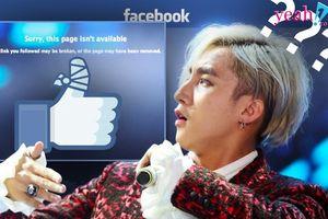 Trang cá nhân của Sơn Tùng M-TP bất ngờ bị vô hiệu hóa vì vi phạm chính sách của Facebook