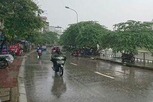 Miền Bắc có nơi xuất hiện mưa rất to