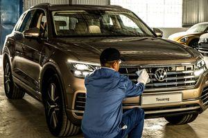Volkswagen Touareg 2019 cập bến Việt Nam, sẵn sàng cho VMS 2018
