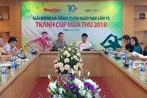 Báo Tuổi trẻ Thủ đô tham gia giải bóng đá cúp mùa Thu 2018