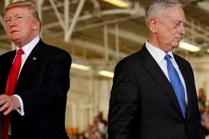 Tổng thống Mỹ úp mở việc Bộ trưởng Mattis từ chức