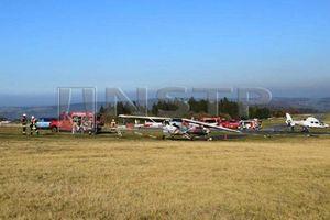 Máy bay đâm vào đám đông, nhiều người thương vong