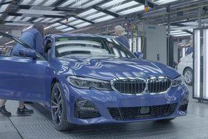 Quá trình sản xuất BMW 3-Series 2019 tại nhà máy ở Munich