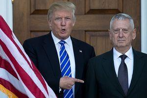 Tổng thống Mỹ Donald Trump để ngỏ việc Bộ trưởng Quốc phòng Mỹ từ chức
