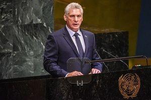 Cuba lên án hành động thù địch của Mỹ tại Đại Hội đồng Liên Hợp Quốc