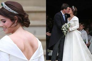 Câu chuyện đằng sau bộ váy cưới của Công chúa Eugenie
