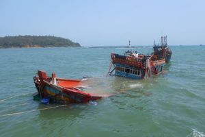 Tàu cá Quảng Nam bị tông gần vùng biển Hoàng Sa