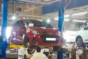 'Lỗi bu lông của Hyundai Grand i10 chỉ có trên xe lắp ráp'